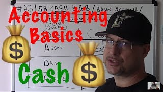 Accounting For Beginners #23 / Cash In A Bank Account / Checking Account / Basic Accounting