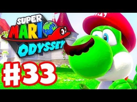 Super Mario Odyssey - Gameplay Walkthrough Part 33 - Yoshi! (Nintendo Switch)