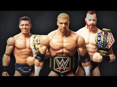 The Current Champions in WWE EWW