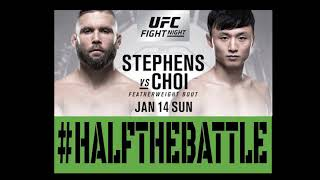 UFC STL: Stephens vs Choi Bets, Picks, Predictions on Half The Battle (UFC Fight Night 124)