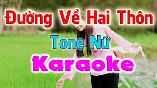 karaoke-duong-ve-hai-thon-tone-nu-nhac-song-thanh-ngan
