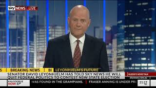 David Leyonhjelm On Fraser Anning