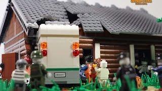 Сборка дома для Зомби атаки.