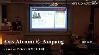 Stunning Retail Unit at Ampang Sold for RM118K!