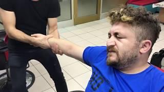 ASMR Turkish massage Barber Face,Head and Back Massage kafa sırt kol masajı muhteşem taktikler