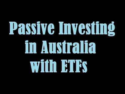 Passive Investing Portfolio in Australia with ETFs