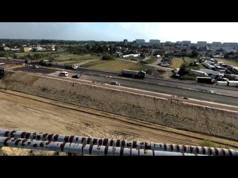 Budowa węzła drogowego nad torami PKP w Radomiu