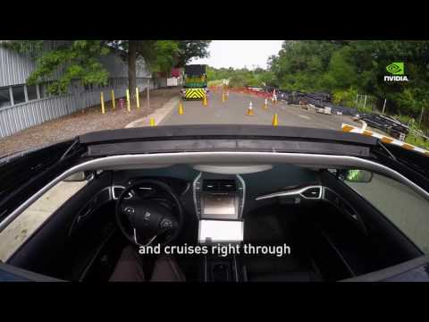 Nvidia's Self-Driving Car Learns From Other Drivers