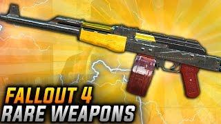 Fallout 4 Rare Weapons - TOP 10 Nuka World DLC Unique & Secret Weapons (BEST NUKA WORLD WEAPONS)