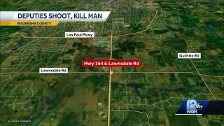 3 Waukesha deputies fatally shoot 37-year-old man