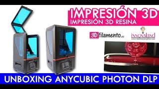 Anycubic Photon | Unboxing | Impresora 3D DLP resina