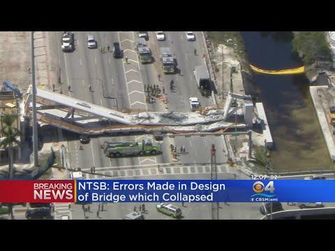 NTSB: Errors Made In FIU Bridge Collapse