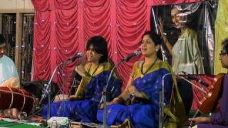 Carnatic vocal concert by Priya Sisters
