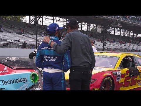 Behind the scenes - Bubba Wallace's Brickyard 400 finish: Indianapolis Motor Speedway