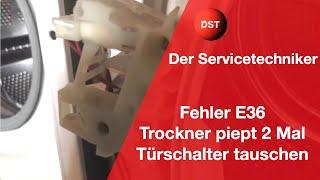 Bosch trockner geht nicht an Самые лучшие видео