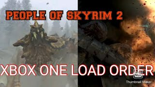 COMPLETLY TRANSFORM YOUR SKYRIM WITH THIS EASY AND MOD LIGHT XBOX ONE LOAD ORDER