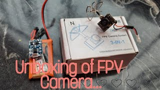UNBOXING   SETUP   TX03 Eachine TX03 FPV Camera & ROTG01 FPV camera receiver Unboxing and Test