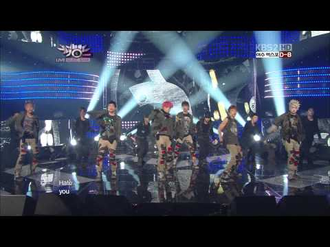 Live HD | 120504 B.A.P - Power @Music Bank
