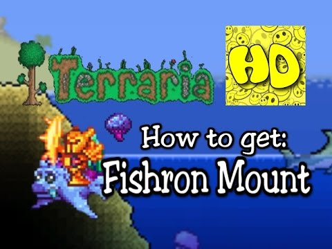 Steam Community :: Video :: Terraria 1 3 Fishron Mount