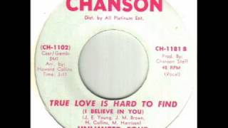 Unlimited Four - True Love Is Hard To Find (I Believe In You).wmv