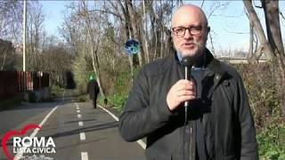 PIste ciclabili a Roma, degrado ed abbandono