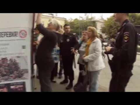 Відео про те, як Росіяни донецьких терористів з Москви проганяли