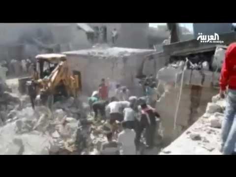 مجزرة في قرية كنصفر السورية