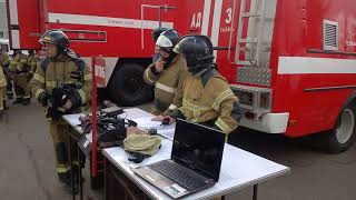 Пожар и эвакуация в МКДЦ