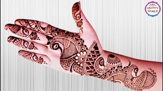 Simple Arabic Henna Mehndi Designs For Hands By Jyoti Sachdeva
