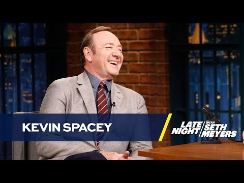 Kevin Spacey Thinks He Could Run for President and Win