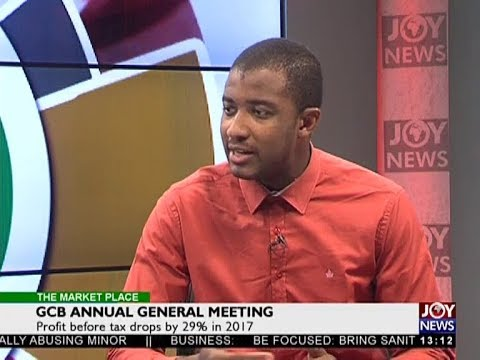 GCB Annual General Meeting - The Market Place on Joy News (6-7-18)