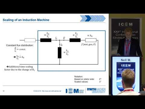 Nell M. - Efficient Numerical Optimization of Induction Machines by Scaled FE Simulations