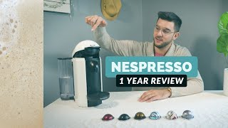 is Nespresso worth it? - one year real world review of the Vertuo line