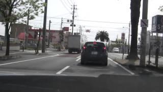 ドライブ動画大分県別府市~大分市へ2013/05/01#1
