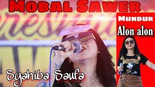 Syahiba MUNDUR ALON ALON KOPLO (ilux) LIVE  KEDAWUNG SRATEN ||Ulang Tahun Onthelis Tawang Alun