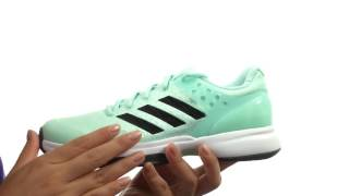 Γυναικεία παπούτσια τένις Adidas Adizero Ubersonic 2 video