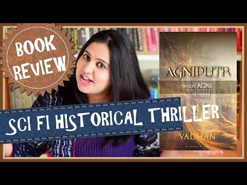 Agniputr by Vadhan | Book Review | Sci-Fi Historical Fiction | Indian Booktuber