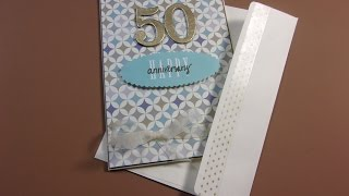 A Sweet 50th Anniversary Card for a Lovely Couple