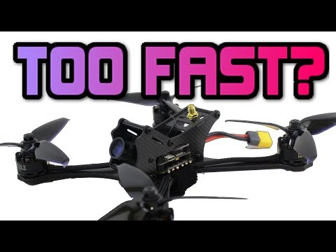 Are Today's Race Drones getting TOO POWERFUL? FURIBEE DARKMAX review.