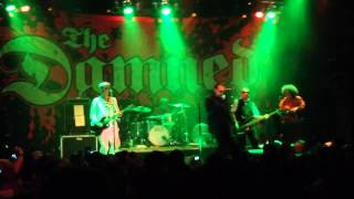 The Damned - Lively Arts - House of Blues Anaheim CA - September 4 2015