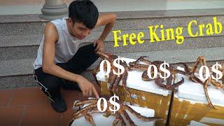 PHD   Cua Alaska Miễn Phí   Alaska King Crabs Free