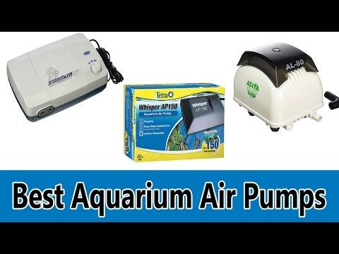 Top 5 Best Aquarium Air Pumps Review 2017