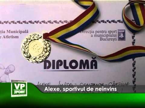 Alexe, sportivul de neînvins