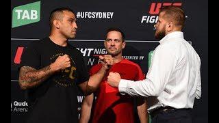 UFC Sydney: Encaradas do Media Day