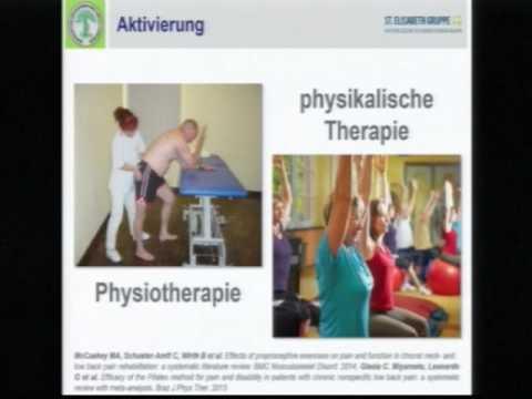 Lehren aus dem physikalischen Therapie mit zervikaler Osteochondrose