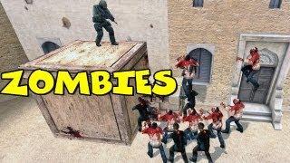 Funny Counter Strike Moments - CS Zombie Escape CSS
