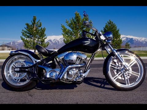 2008 Big Dog BigDog Pitbull Custom Pro-Street Chopper Motorcycle Great Condition $10,499 FOR SALE!