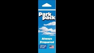 Park Pack by Potty Pack - Review, opening and testing