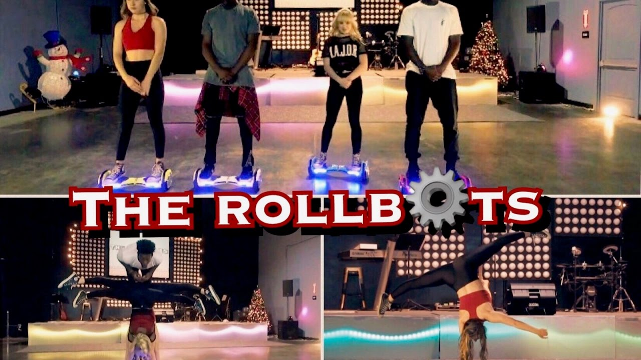 Epic Hoverboard Dance – The RollBots