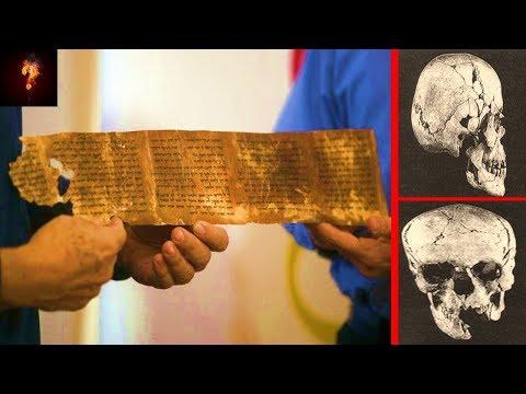 Het oude boek van de reuzen werd ontdekt in Qumran